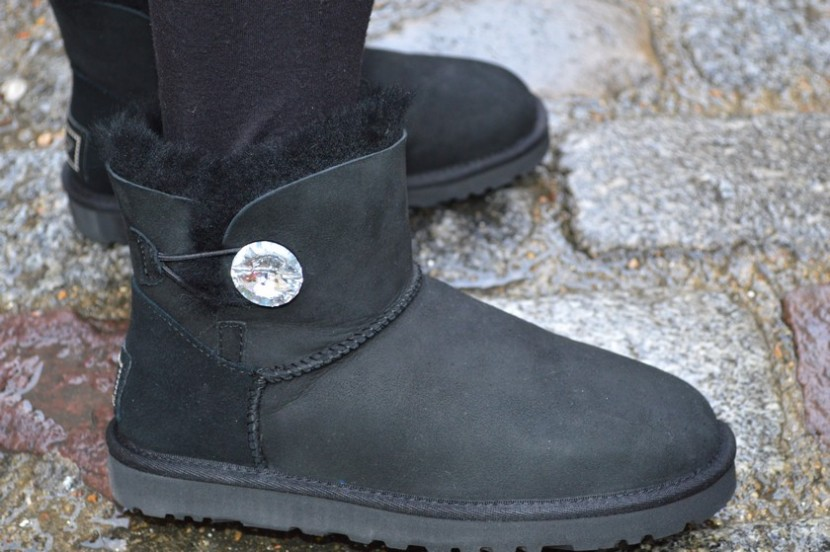 Blog mode melolimparfaite pull uggs bling it up noir