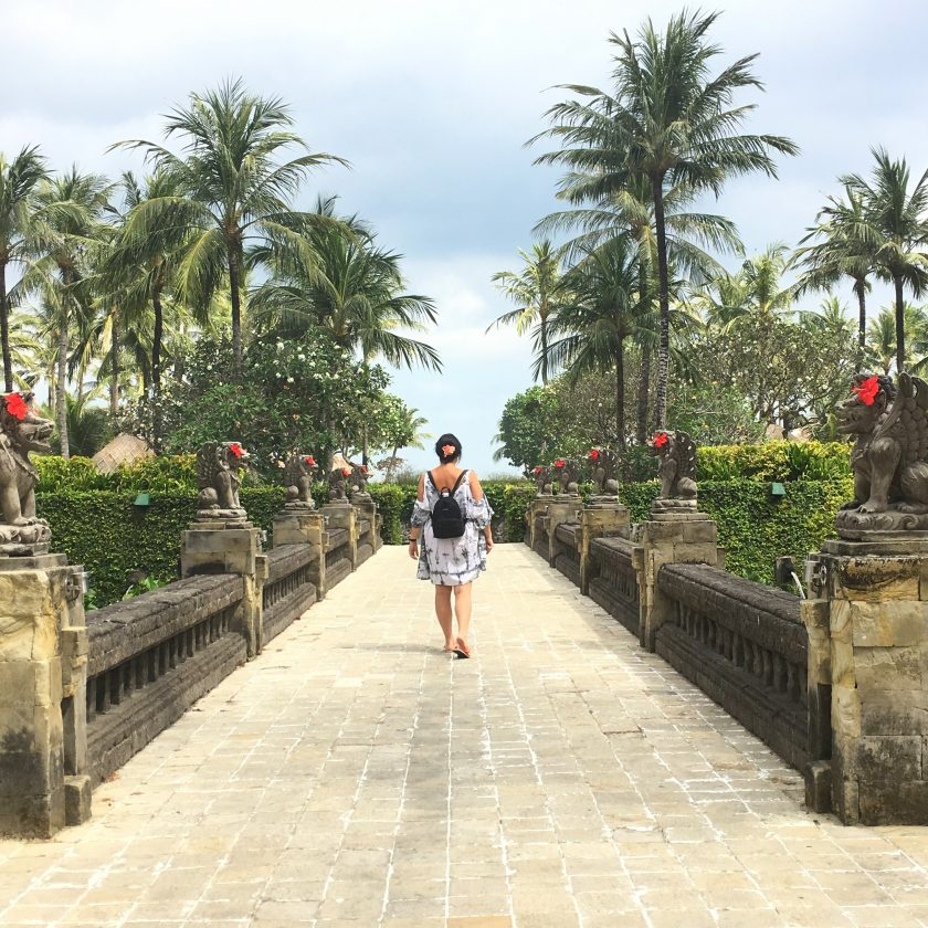 Blog voyage melolimparfaite Bali avis sur l'hotel intercontinental way towards beach jimbaran