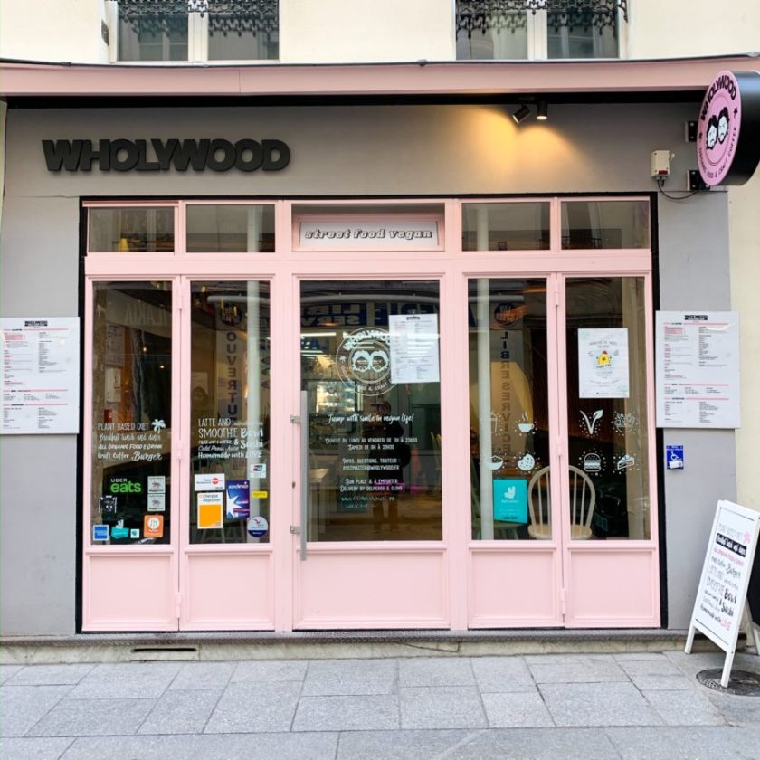 restaurant vegan wholywood